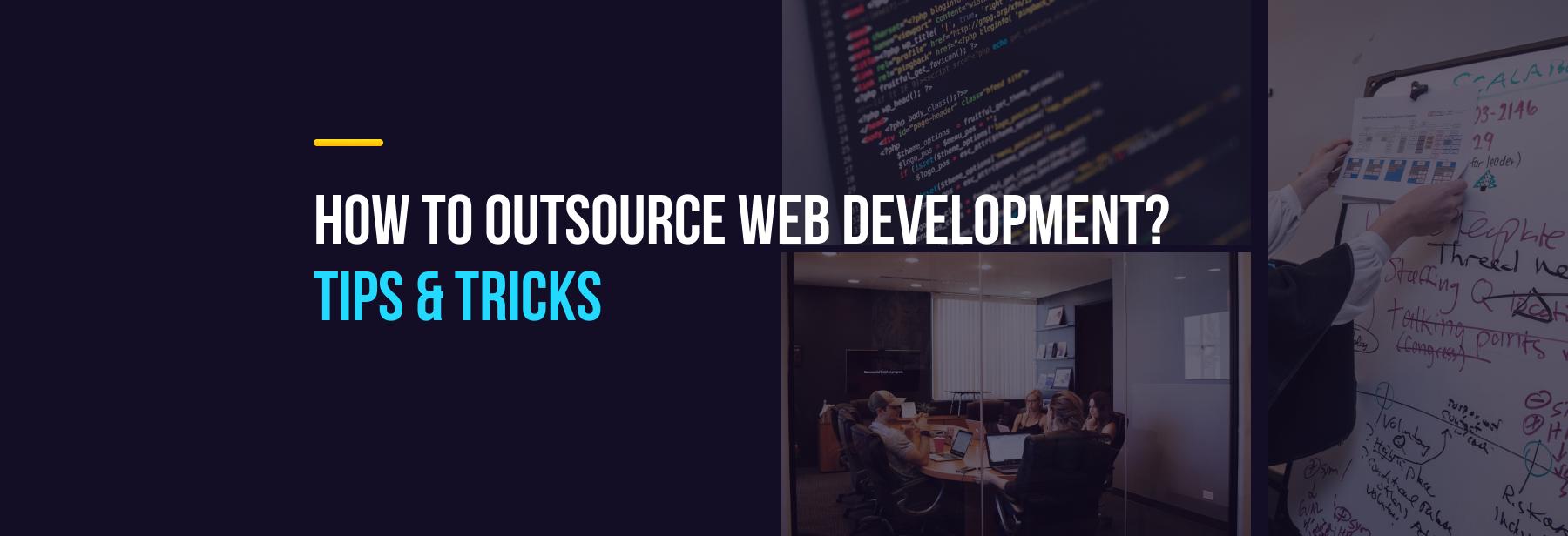 outsource web dev